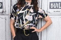 """NEW YORK, NEW YORK - DECEMBER 05: Actress Jennifer Beals visits the Build Series to discuss the Showtime television drama """"The L Word: Generation Q"""" at Build Studio on December 05, 2019 in New York City."""