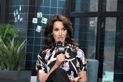 "NEW YORK, NEW YORK - DECEMBER 05: Actress Jennifer Beals visits the Build Series to discuss the Showtime television drama ""The L Word: Generation Q"" at Build Studio on December 05, 2019 in New York City."