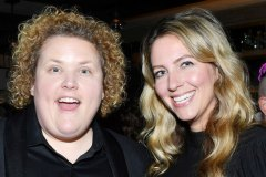 "LOS ANGELES, CALIFORNIA - DECEMBER 02: Fortune Feimster and Jacquelyn Smith attend the after party for the premiere of Showtime's ""The L Word: Generation Q"" at Hotel Figueroa on December 02, 2019 in Los Angeles, California"