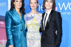 "LOS ANGELES, CALIFORNIA - DECEMBER 02: (L-R) Jennifer Beals, Leisha Hailey and Kate Moennig attend the premiere of Showtime's ""The L Word: Generation Q"" at Regal LA Live on December 02, 2019 in Los Angeles, California."