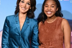 "Actresses Jennifer Beals (L) and Jordan Hull attend the red carpet premiere for Showtime's new drama series ""The L Word: Generation Q,"" on December 2, 2019 at the Regal Cinemas at L.A. LIVE in Los Angeles, California."