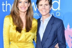 "LOS ANGELES, CALIFORNIA - DECEMBER 02: Stephanie Allynne and Tig Notaro attend the premiere of Showtime's ""The L Word: Generation Q""  at Regal LA Live on December 02, 2019 in Los Angeles, California."
