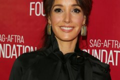 "LOS ANGELES, CA - DECEMBER 03: Jennifer Beals attends SAG-AFTRA Foundation Conversations with Showtime's ""The L Word: Generation Q"" at SAG-AFTRA Foundation Screening Room on December 03, 2019 in Los Angeles, California"