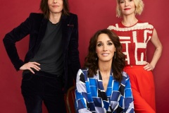 BEVERLY HILLS, CALIFORNIA - AUGUST 02: (L-R) Katherine Moennig, Jennifer Beals and Leisha Hailey of Showtime's 'The L Word: Generation Q' pose for a portrait during the 2019 Summer Television Critics Association Press Tour at The Beverly Hilton Hotel on August 02, 2019 in Beverly Hills, California.