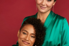 BEVERLY HILLS, CALIFORNIA - AUGUST 02: Rosanny Zayas and Arienne Mandi of Showtime's 'The L Word: Generation Q' pose for a portrait during the 2019 Summer Television Critics Association Press Tour at The Beverly Hilton Hotel on August 02, 2019 in Beverly Hills, California.