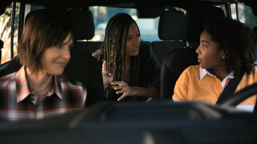 Shane and Quiara tell Angie about how they met.