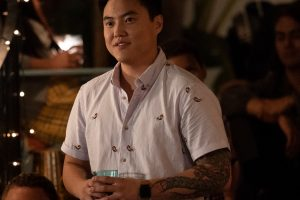 "Leo Sheng as Micah Lee in THE L WORD: GENERATION Q, ""Less is More"". Photo Credit: Hilary Bronwyn Gayle/SHOWTIME."