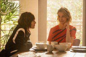 """Katherine Moennig as Shane and Leisha Hailey as Alice in THE L WORD: GENERATION Q """"Lake House""""."""