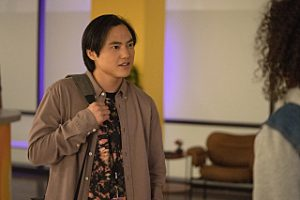 """Leo Sheng as Micah in THE L WORD: GENERATION Q """"Lake House""""."""