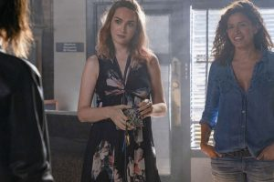 "(L-R) Jamie Clayton as Tess and Mercedes Mason as Lena in THE L WORD: GENERATION Q, ""Lost Love"""