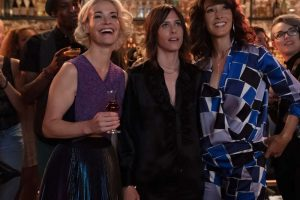 "(L-R) Leisha Hailey as Alice Pieszecki, Katherine Moennig as Shane McCutcheon and Jennifer Beals as Bette Porter in THE L WORD: GENERATION Q, ""LA Times""."