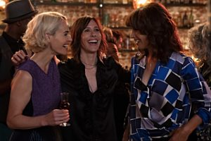 "(L-R) Jennifer Beals as Bette Porter, Katherine Moennig as Shane McCutcheon and Leisha Hailey as Alice Pieszeckie in THE L WORD: GENERATION Q, ""LA Times""."