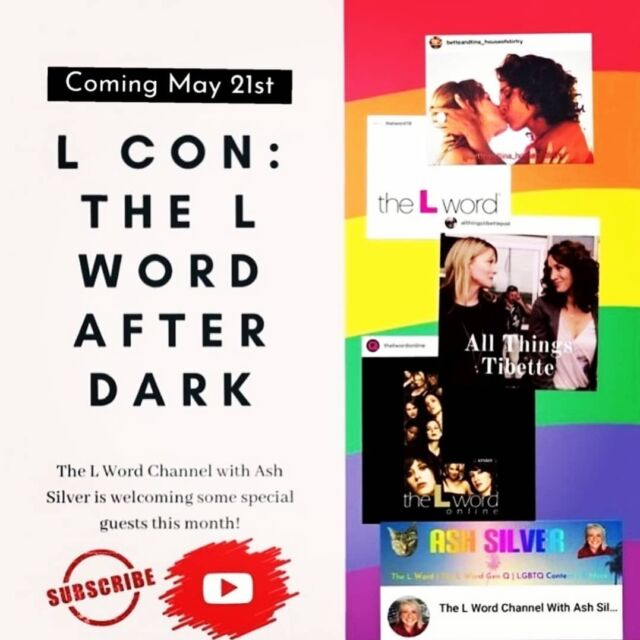 It's time for L CON II this Friday!!! Come join @the.ash.silver @allthingstibettepod @betteandtina_houseofstirfry and us (@chris_lintner & @originalslicey ) as we chat about all things L Word Gen Q on YouTube. Link will be in the bio  Friday May 21st 7pm 🇺🇸 EST 4pm 🇺🇸 PST  8pm 🇧🇷 Brazil Midnight 🇬🇧 U.K. (Fri night/Sat am)  1am 🇪🇺 Central Europe (Fri night/Sat am) Australia 🇦🇺 9am (Sat May 22nd)   If you can't come watch because of the timezones or because you are working or any other reason, dont worry! We will be posting the whole thing afterwards for everyone to enjoy!